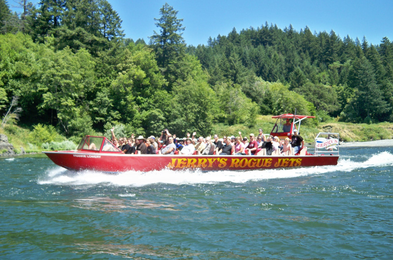 Jerry Jet Boats Gold Beach Oregon Pictures