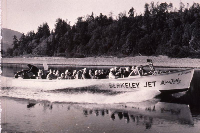 Jerrys History Original Jet Boat Side Profile