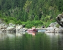 Rogue-River-Jet-Boat-Little-Canyon-idle