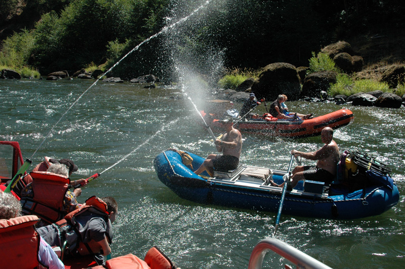 104 Mile Wilderness Whitewater Rogue Jets